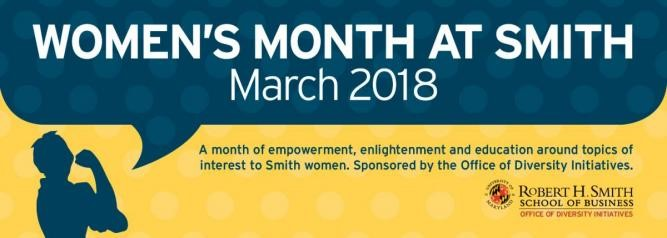 women's month at smith